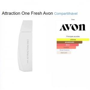 Avon Perfume Attraction One Her 50 ml