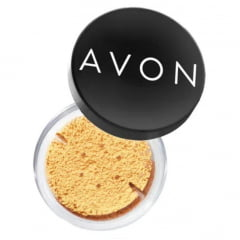 Avon Pó Facial Finalizador Avon Banana Powder HD 9g