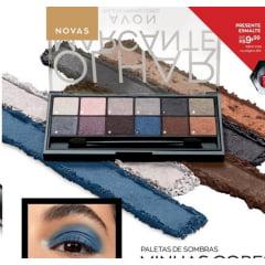 Avon Presente Maquiagem Paleta de Sombras 9g  BRILHO NO OLHAR