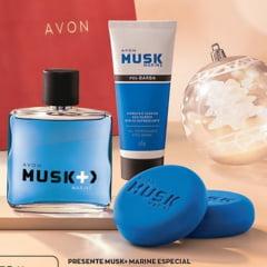 Avon Presente Musk+ Marine Especial 2020