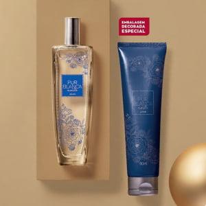 Avon Presente Pur Blanca Noite Especial Natal 2021 - 2 itens