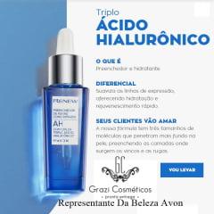Avon Renew Antirrugas Kit Triplo Ácido Hialurônico*  novo