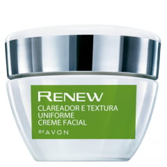 Avon Renew Clinical Creme Clareador Facial e Textura Uniforme 30g