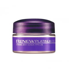 Avon Renew Platinum Creme Facial Dia FPS 30 Miniatura 15g