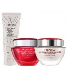 Avon Renew Reversalist Kit Dia + Noite + Gel
