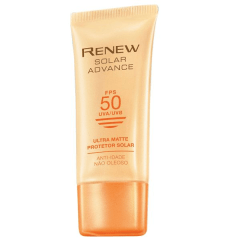 Avon Renew Solar Advance Ultra Matte Protetor Solar Anti-Idade FPS 50 50ml 52135-3
