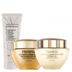 Avon Renew Ultimate Kit 45+ Dia + Noite + Gel