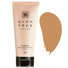 Avon True Color FLAWLESS Base Líquida Matte FPS 15 30 ML BEGE ESCURO