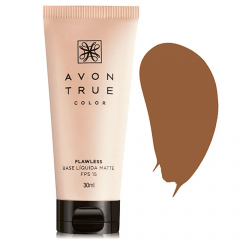Avon True Color FLAWLESS Base Líquida Matte FPS 15 30 ML CANELA
