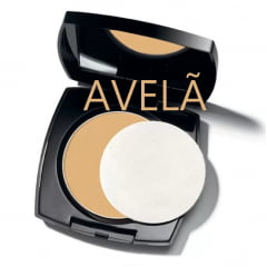 AVON TRUE COLOR FLAWLESS PÓ COMPACTO FACIAL MATIFICANTE AVELÃ 11G