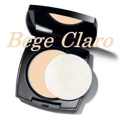 AVON TRUE COLOR FLAWLESS PÓ COMPACTO FACIAL MATIFICANTE BEGE CLARO 11G
