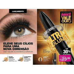 AVON TRUE COLOR MÁSCARA PARA CÍLIOS AVON TRUE ULTRA VOLUME 10g