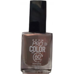 AVON TRUE ESMALTE AVON PRO COLOR 60 SEGUNDOS CONCRETO 10 ml
