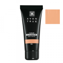 Avon True FLAWLESS Base Líquida UltraMatte FPS 15 30 ML BEGE