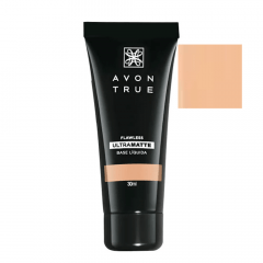 Avon True FLAWLESS Base Líquida UltraMatte FPS 15 30 ML BEGE CLARO
