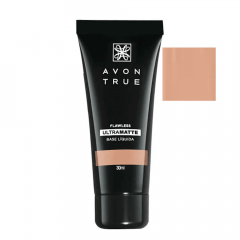 Avon True FLAWLESS Base Líquida UltraMatte FPS 15 30 ML BEGE MÉDIO