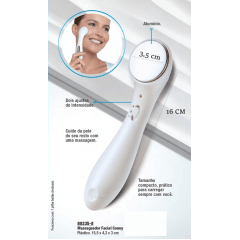MASSAGEADOR FACIAL AVON WELLNESS CONNY - AVON MODA E CASA
