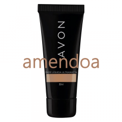 AVON TRUE BASE LÍQUIDA ULTRAMATTE 30ML AMENDOA