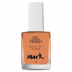 Esmalte Gel Finish 7 em 1 Coral Hibisco Mark Avon 12 g