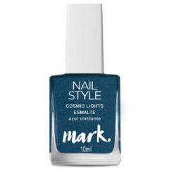 Esmalte Nail Style Cosmic Lights Azul Cintilante Avon 10g
