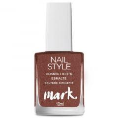 Esmalte Nail Style Cosmic Lights Dourado Cintilante Avon 10g