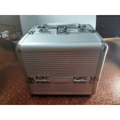 Maleta Mini Alumínio com Divisória Avon