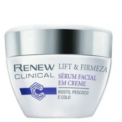Renew Clinical Sérum Facial Em Creme Renew Clinical Lift & Firmeza Rosto e Pescoço 30g