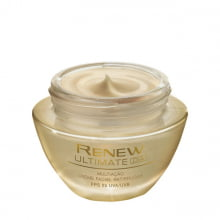 Avon Renew Ultimate Multiação Dia Creme Facial Antirrugas FPS 25 50 g 51114-7