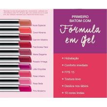 Framboesa Fatal Avon Maquiagem Ultra Color Revolution Batom em Gel FPS15 3g