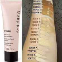 Base Líquida Acabamento Luminoso Timewise® 29ml Mary Kay beige 6