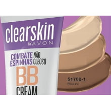 Clearskin BB Cream com Cor 30g