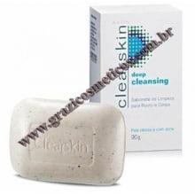 Clearskin Avon Sabonete de Limpeza para Rosto e Corpo em barra 90g