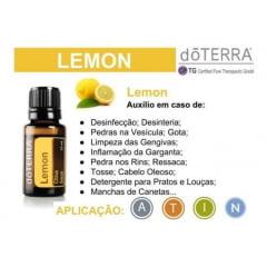 doTERRA Limão Siciliano Citrus limon Óleo Essencial 5 ml