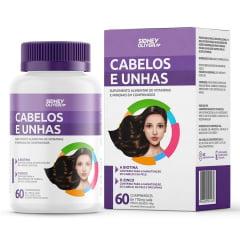 CABELOS E UNHAS SIDNEY OLIVEIRA MULHERES ATIVAS LEVE 60 comprimidos