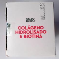 COLÁGENO HIDROLISADO + BIOTINA SIDNEY OLIVEIRA 60 CÁPSULAS