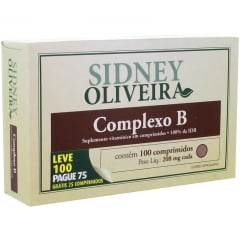 Complexo B 208 mg - Sidney Oliveira 3X Leve 300 pague 225