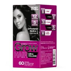 GROW HAIR ULTRA VOLUME 60 CÁPSULAS SIDNEY OLIVEIRA