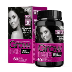GROW HAIR ULTRA VOLUME 60 CÁPSULAS SIDNEY OLIVEIRA