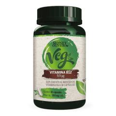 VITAMINA B12 VEGANO SIDNEY OLIVEIRA 30 CÁPSULAS